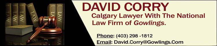 David Corry Calgary Lawyer